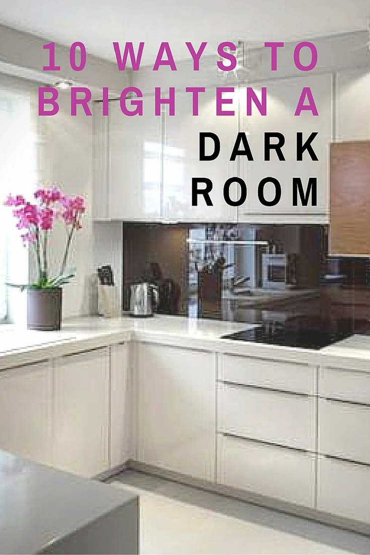 10 Classic Ways To Brighten A Dark Room Dark Living