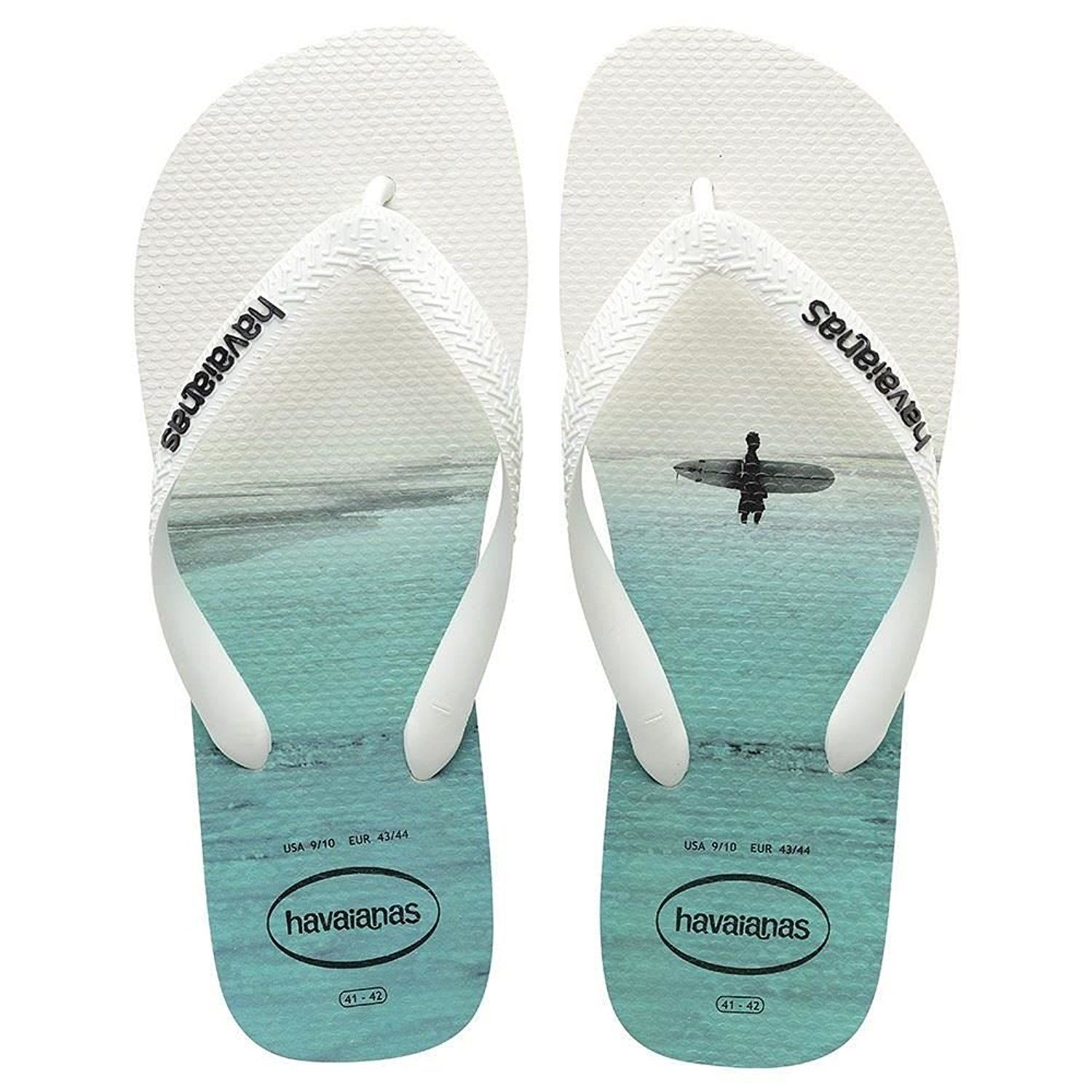 56b72c0b46e8 Havaianas Hype 2017 Photo Print White Black Grey Men s Flip Flops All Sizes  -- See this great product.