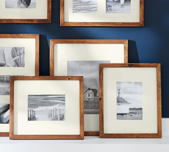 Wood Gallery Single Opening Frames Amandahome Frame Rustic