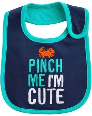 You don't have to ask us twice, cutie! Click above to buy this unique bib for your baby. #babyclothes