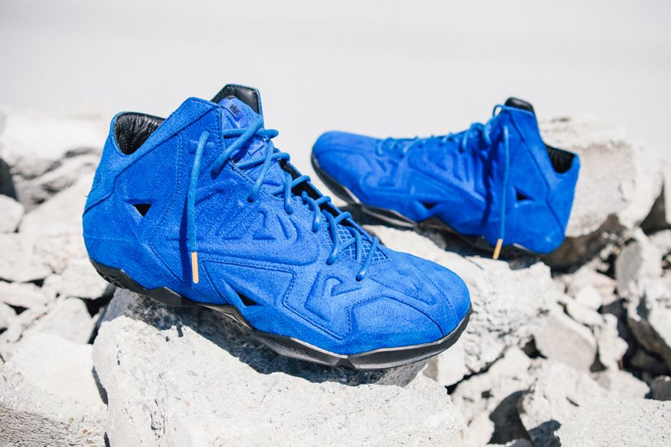 18b4b978177 order image of nike lebron 11 ext blue suede 373d0 bf20b