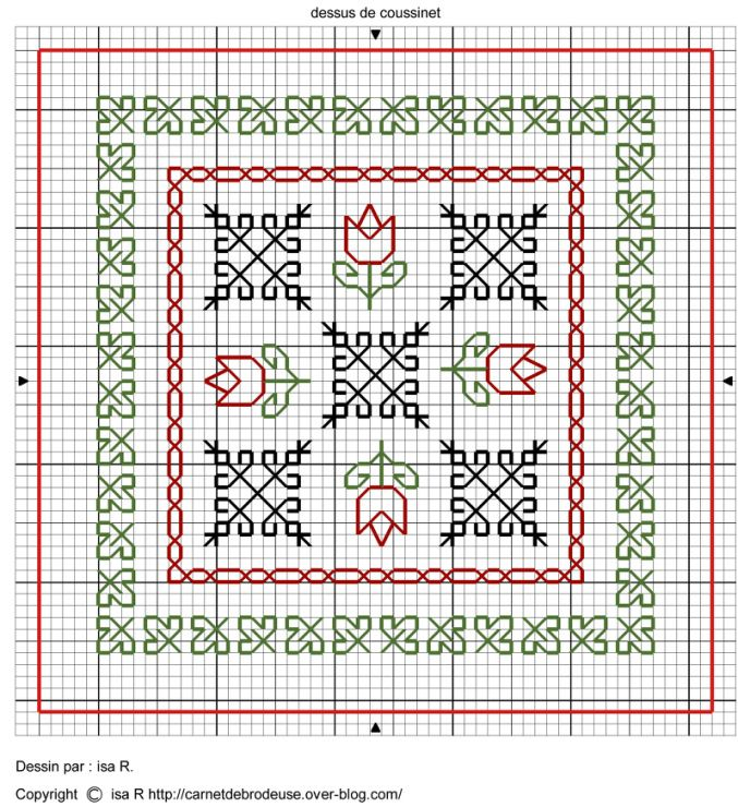 Gallery.ru / Фото #110 - Blackwork Cross Stitch 53 - joobee ...