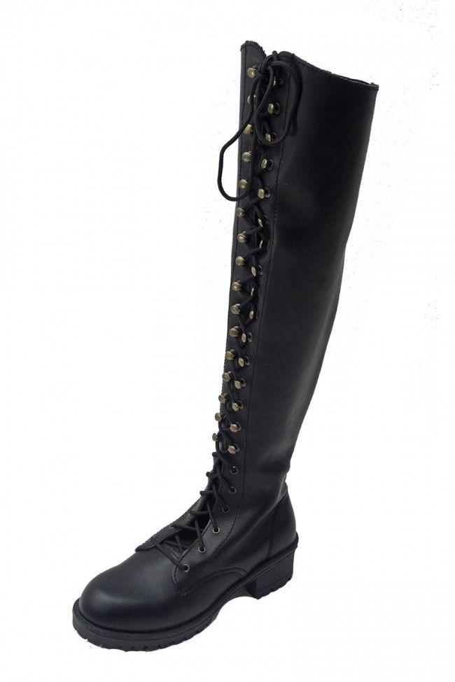 Overknees Dark BrideShoooooes Overknee Inamagura Boots jL34q5AR