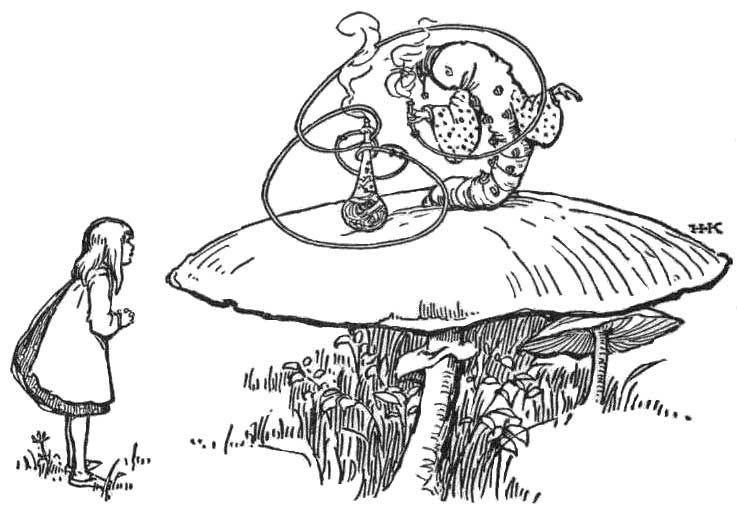 Alice In Wonderland Caterpillar Drawing Google Search Wonderland Tattoo Alice In Wonderland Artwork Wonderland Artwork