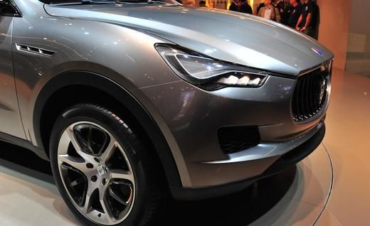 The Levante SUV, previewed at the 2011 Frankfurt Auto Show as the Kubang concept, is set to debut in 2014. CEO Sergio Marchionne confirmed in an interview that the luxury utlity will be manufactured at Fiat's flagship plant in Turin, Italy. This luxury SUV is set to hit dealers in 2015. As the Trident's first SUV, the Levante is expected to compete directly with the Porsche Cayenne and Land Rover Range Rover.