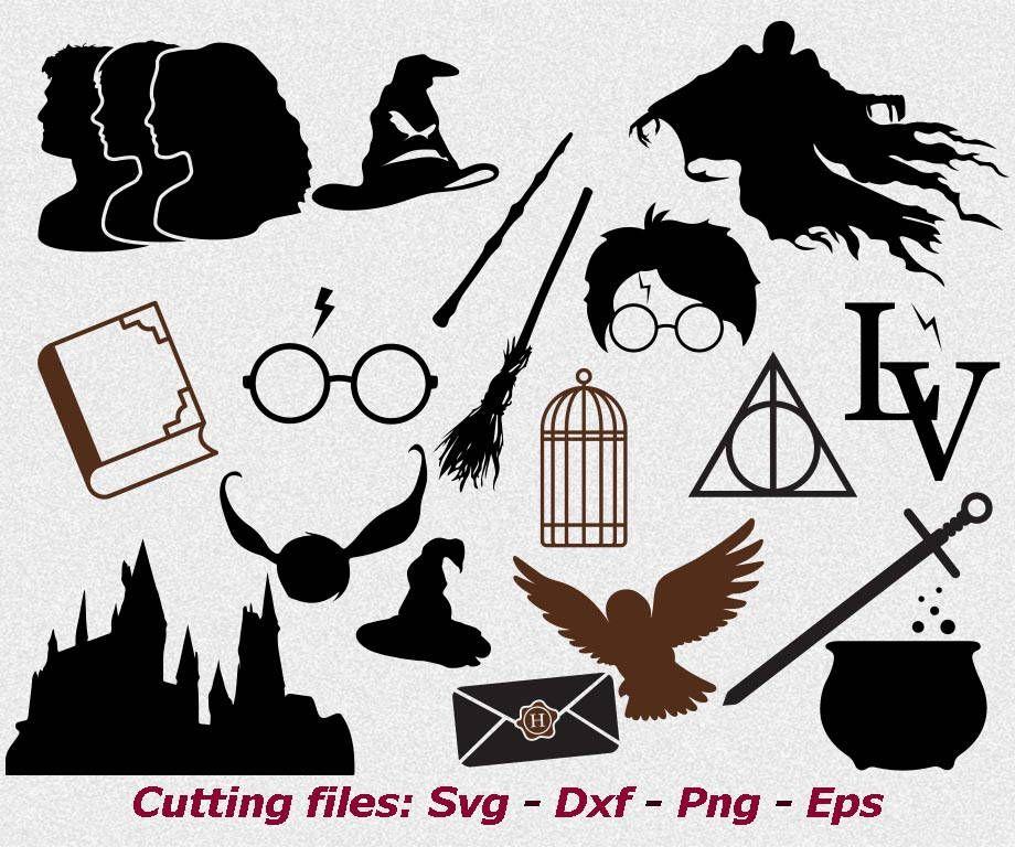 Harry Potter svg files Harry Potter svg Dementor svg Harry ...