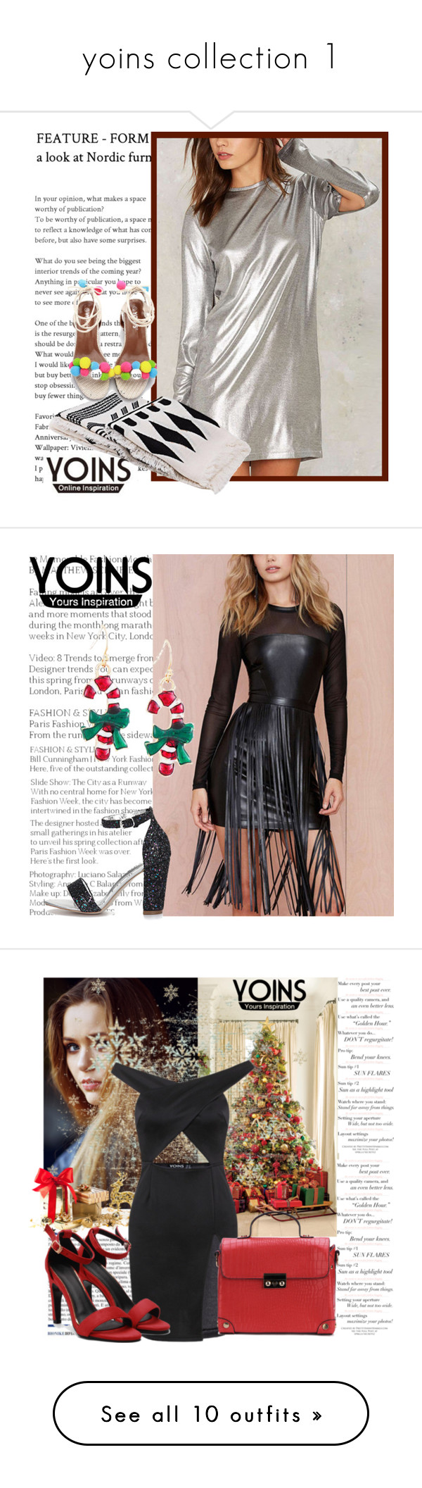 """yoins collection 1"" by merima-k ❤ liked on Polyvore featuring yoins, yoinscollection, loveyoins, Toni&Guy, Oris, Paige Denim, Misha Nonoo, Walking Cradles and Nika"