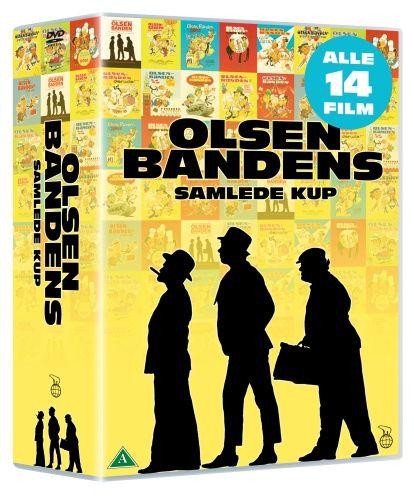 Olsen Banden Nyrestaureret Boks Dvd Kr 399 00 Http Cdon Dk Film Olsen Banden Nyrestaureret Boks 21298214 Gamle Film Film Olsen