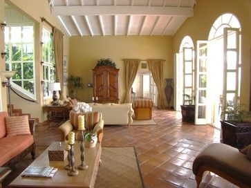 Villa Mille Fleurs, St. Martin, French West Indies - tropical - Living Room - Other Metro - Villa Mille Fleurs