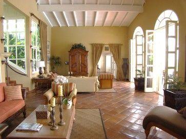 Villa Mille Fleurs, St. Martin, French West Indies - tropical - Living Room - Other Metro - Villa Mille Fleurs