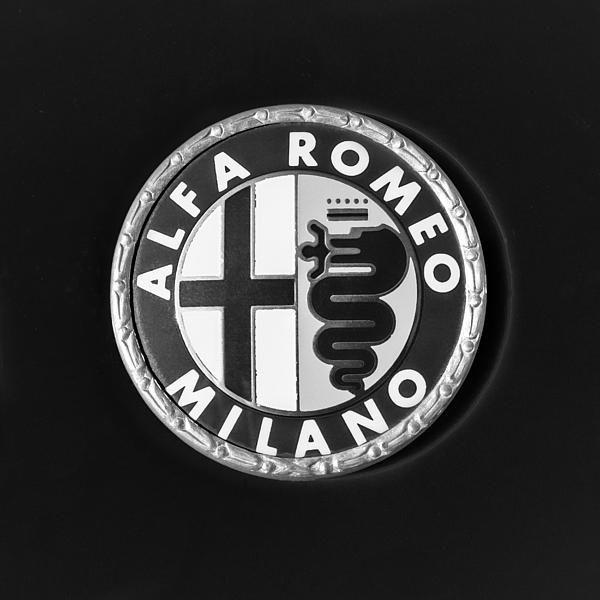 Alfa Romeo Photographs, Black And White Photographs Of