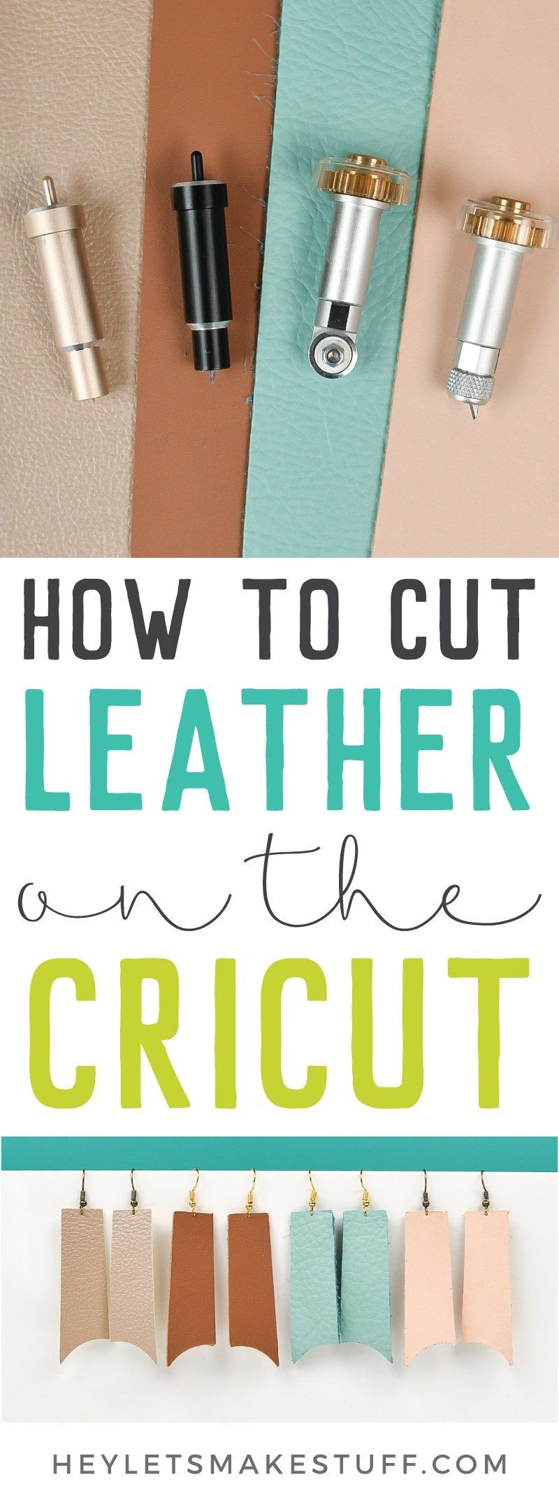 Cut Leather with the Cricut Explore and Maker