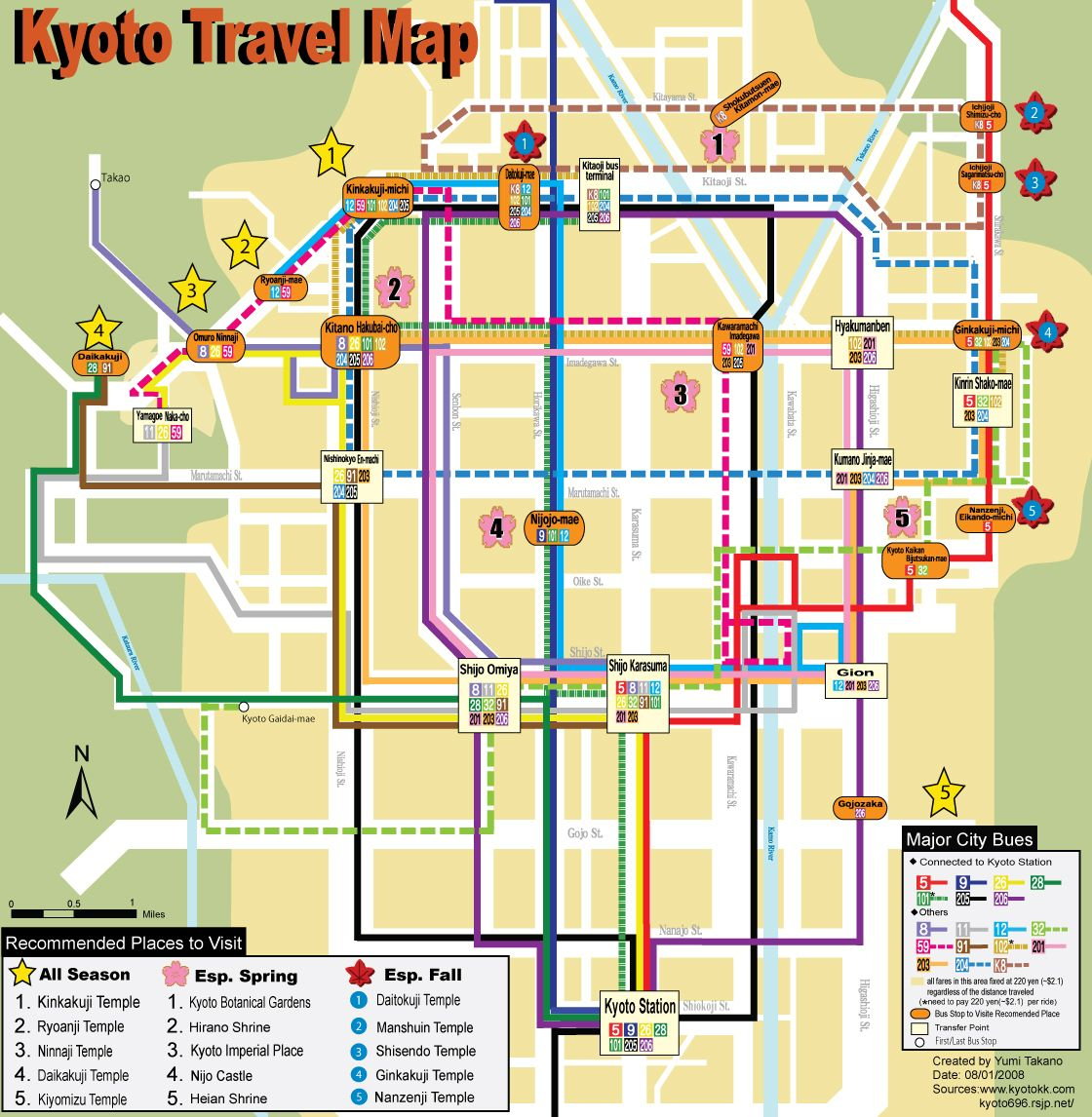 Kyoto Subway Map Vector.Map Of Kyoto Japan Gardens Kyoto Map Kyoto Japan Garden