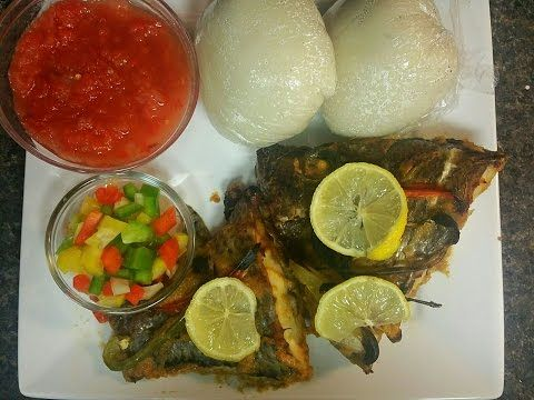 How to cook the perfect banku amokple youtube ghanian food my banku and tilapia recipe forumfinder Gallery