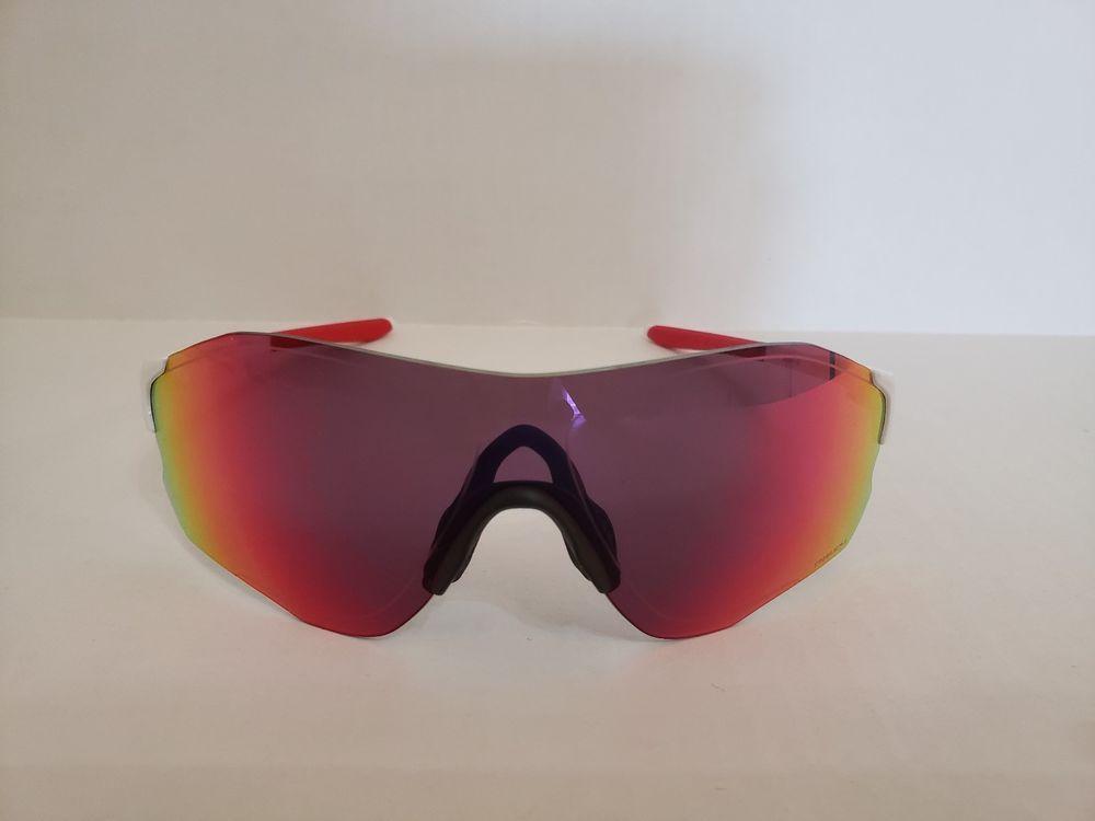SERFAS Decorah Sunglasses in White w// Red Polarized Lenses NEW