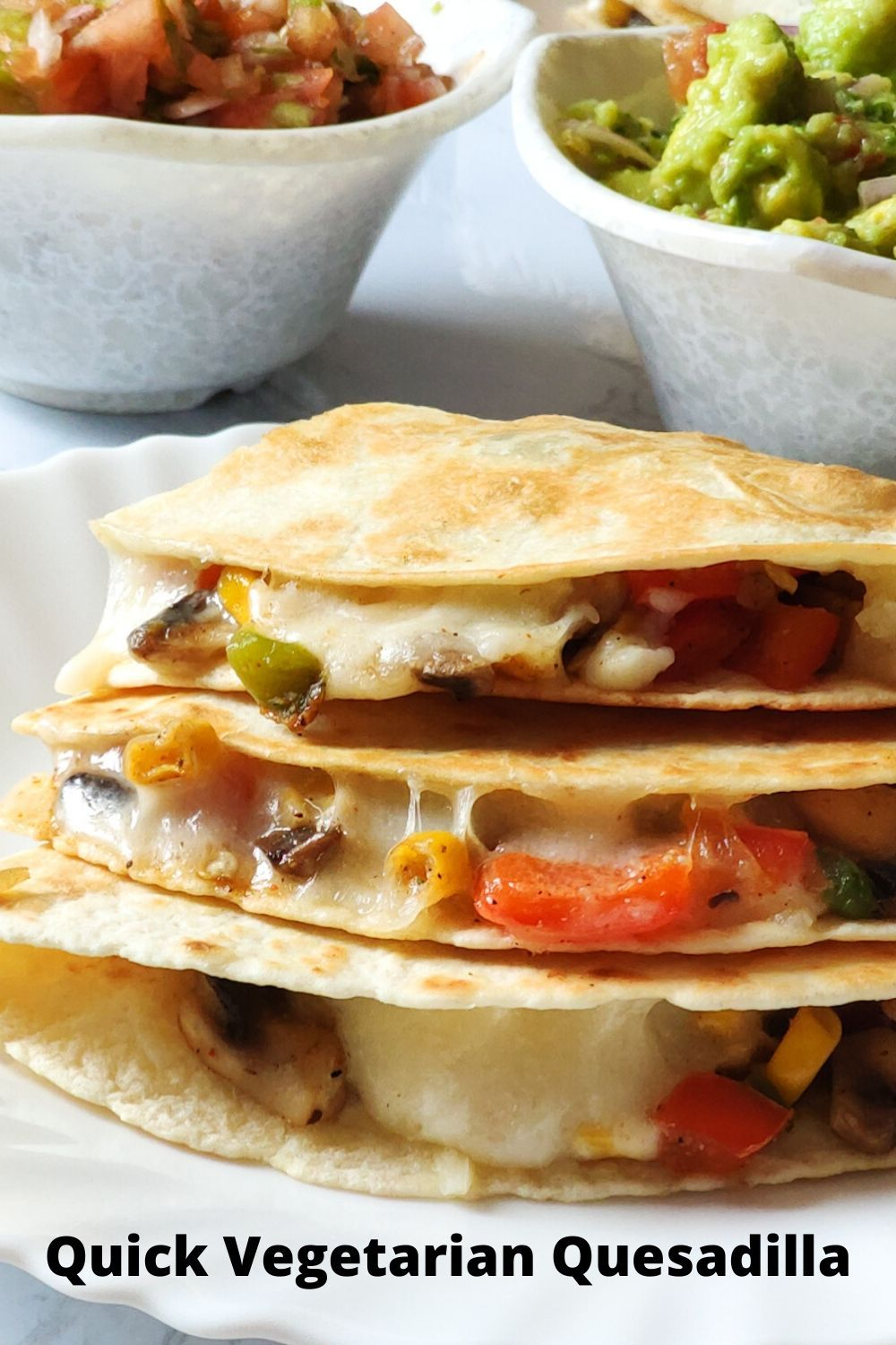 Vegetable Quesadilla Recipe Vegetarian Quesadilla Veg Quesadilla Recipe Vegetable Quesadilla Recipes Mexican Food Recipes Easy Quesadilla Recipes Easy