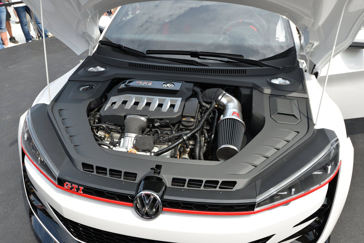 Gti Debut In Worthersee Volkswagen Showed Us A New Vr6 This 3 0l 24v Six Cylinder Could Possibly Replace The Current 3 6l Seen In Such Models Like The Passat