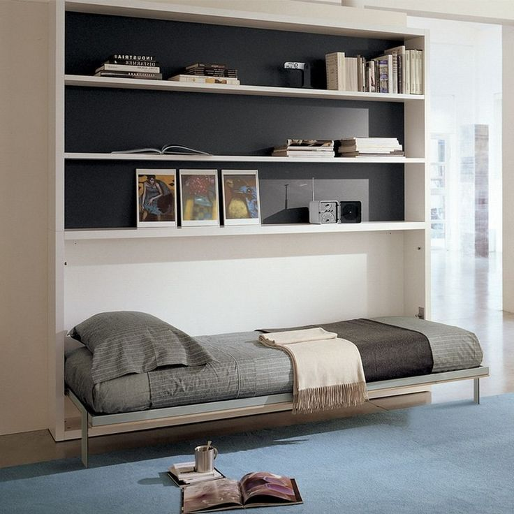 55+ Intelgent & Creative Folding Bed Ideas for Home Space ...