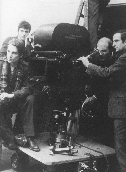 1968. François Truffaut y Jean-Pierre Léaud en Baisers volés.