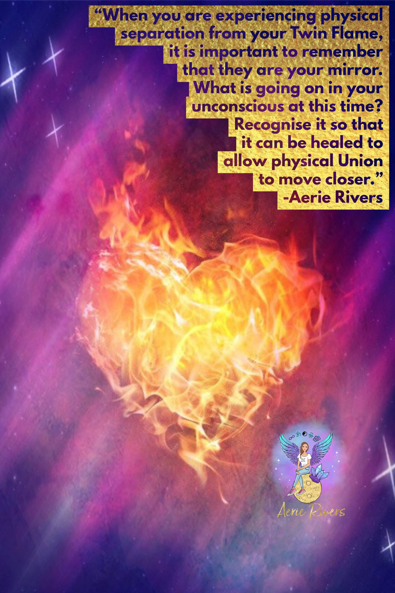 Twin Flames are a deep spiritual connection  In the 3D world it is
