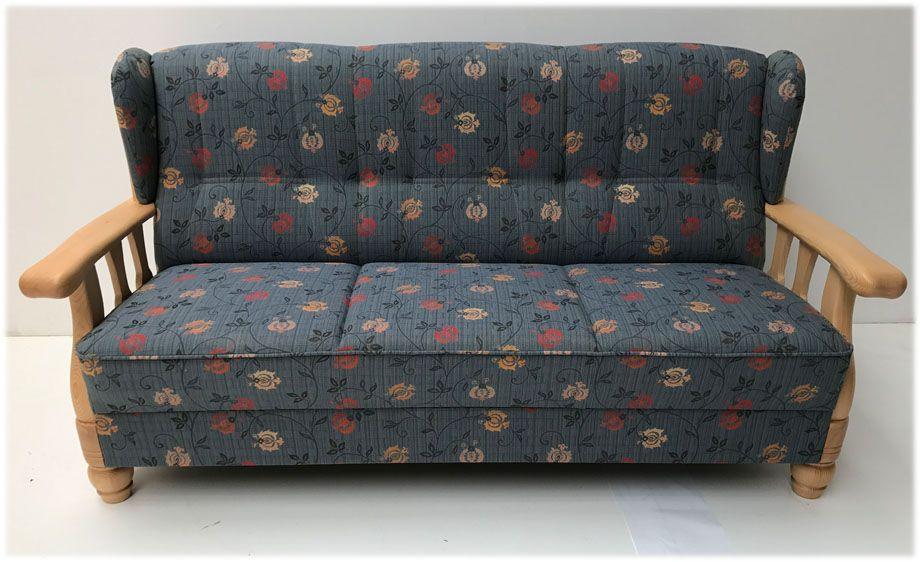 Polstergruppe Lindau Bodensee Sofa 3 Sitzer, TS-3071 - landhausmöbel weiss wohnzimmer