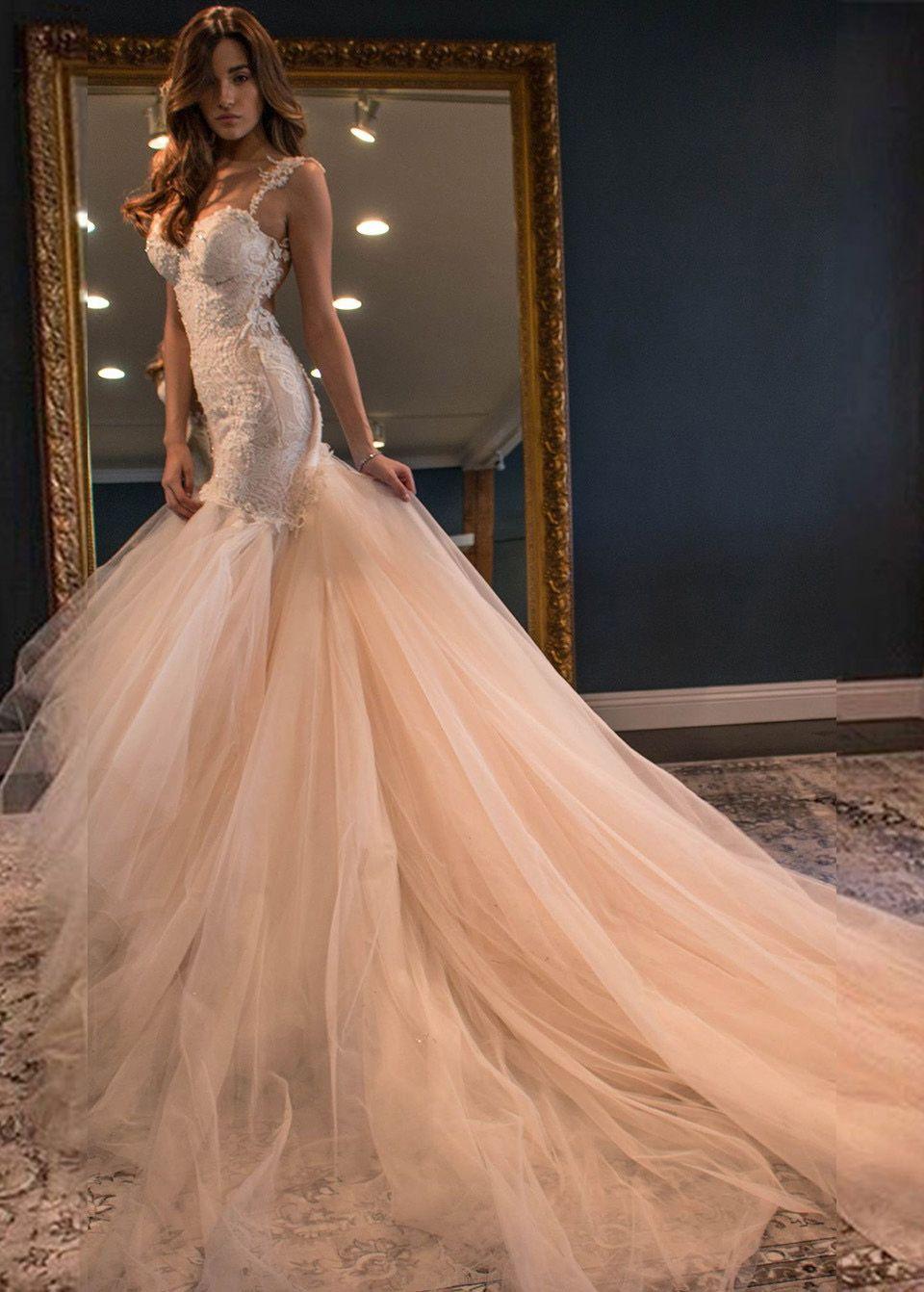 Long prom dresses lace prom dresses champagne prom dresses open