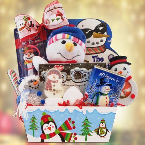 Christmas Gift Basket for Children - Let It Snow by Gift Basket 4 ...