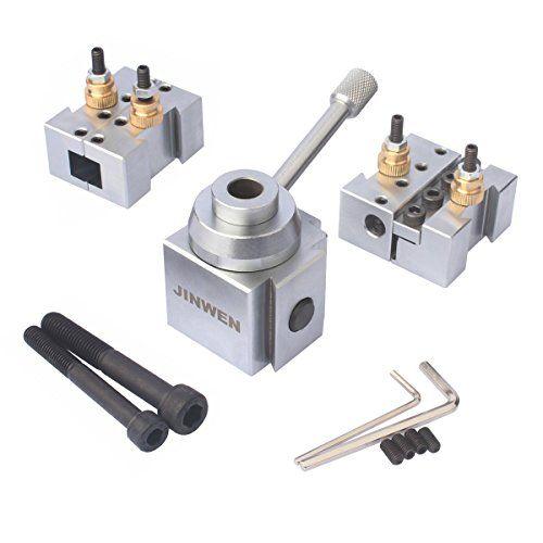 Mini Lathe Quick Change Tool Post /& Holders Multifid Tool Holder Kit Set for