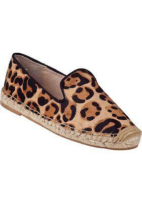93b6106edb2b Steven by Steve Madden - Lani Flat Espadrille Leopard Hair Calf ...