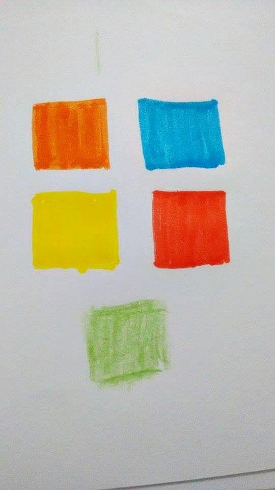 Vermelho representa o lado extrovertido e alegre totalmente alto astral, o laranja traduz a energia o bom humor, já o verde trás a suavidade o equilíbrio e a ar jovial, o azul traduz a fantasia, o amarelo espontaneidade e com certeza a originalidade