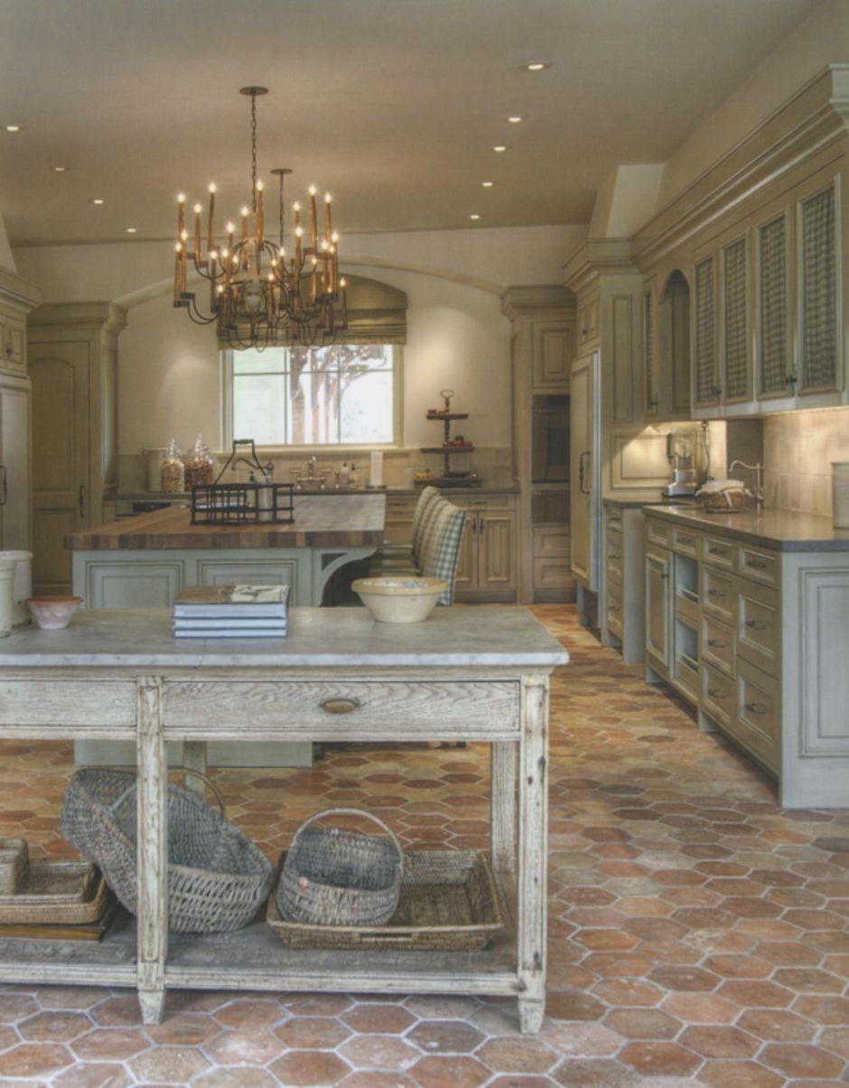 40 amazing brick floor kitchen design inspirations french farmhouse kitchen brick floor on kitchen remodel floor id=38918
