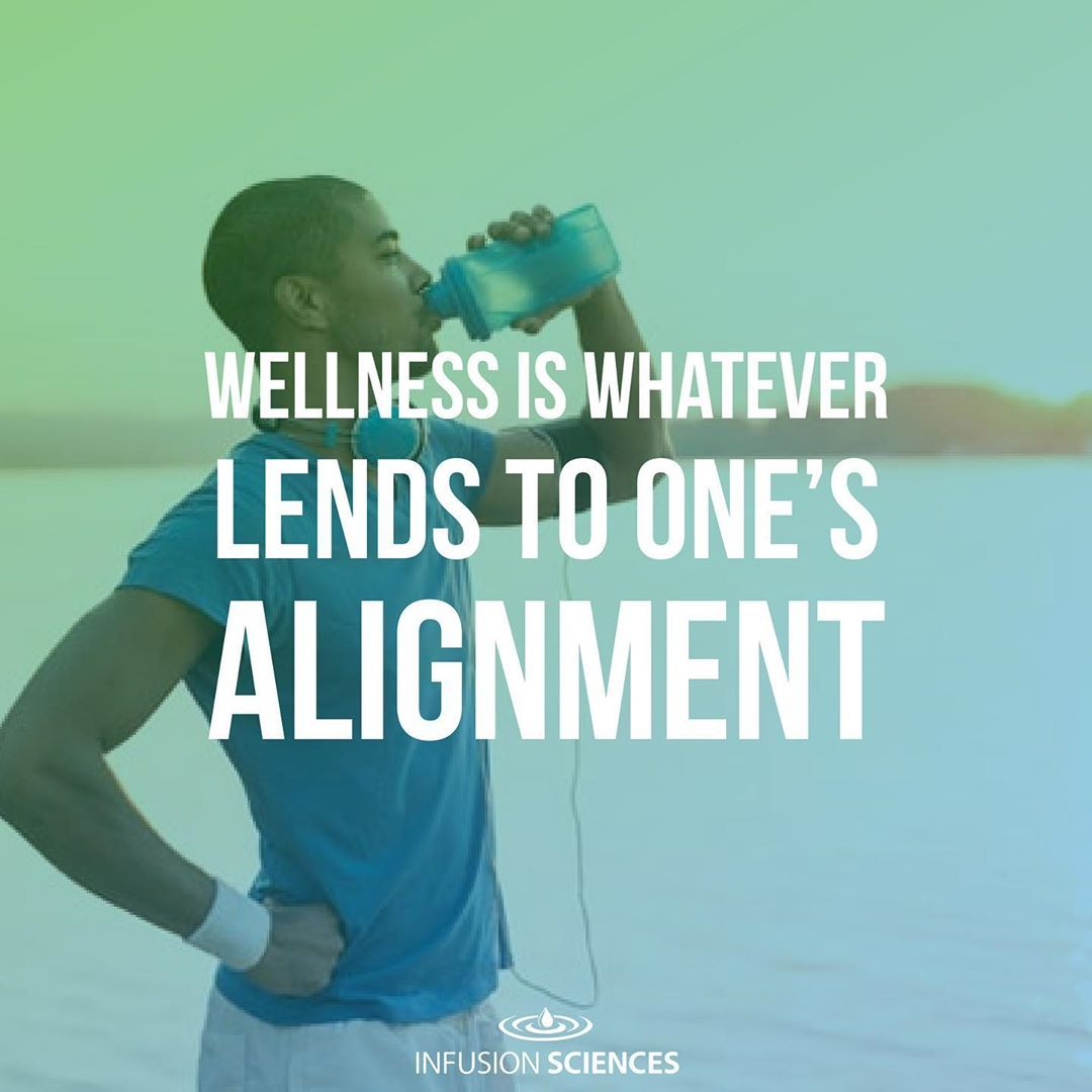 """""""Wellness is what lends to ones alignment."""" ——— [ #fitness #fitnessmotivation #health ..."""