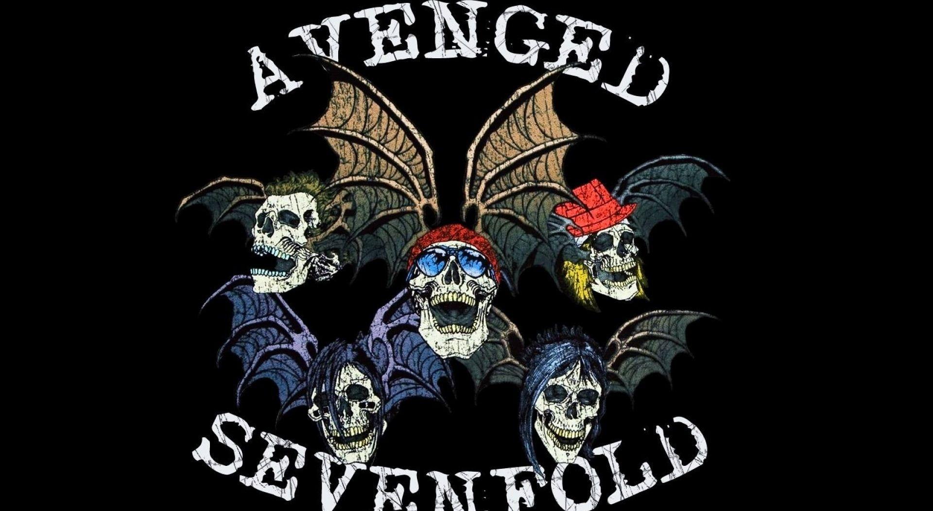 Avenged Sevenfold Logo, A venged sevenfold illustration