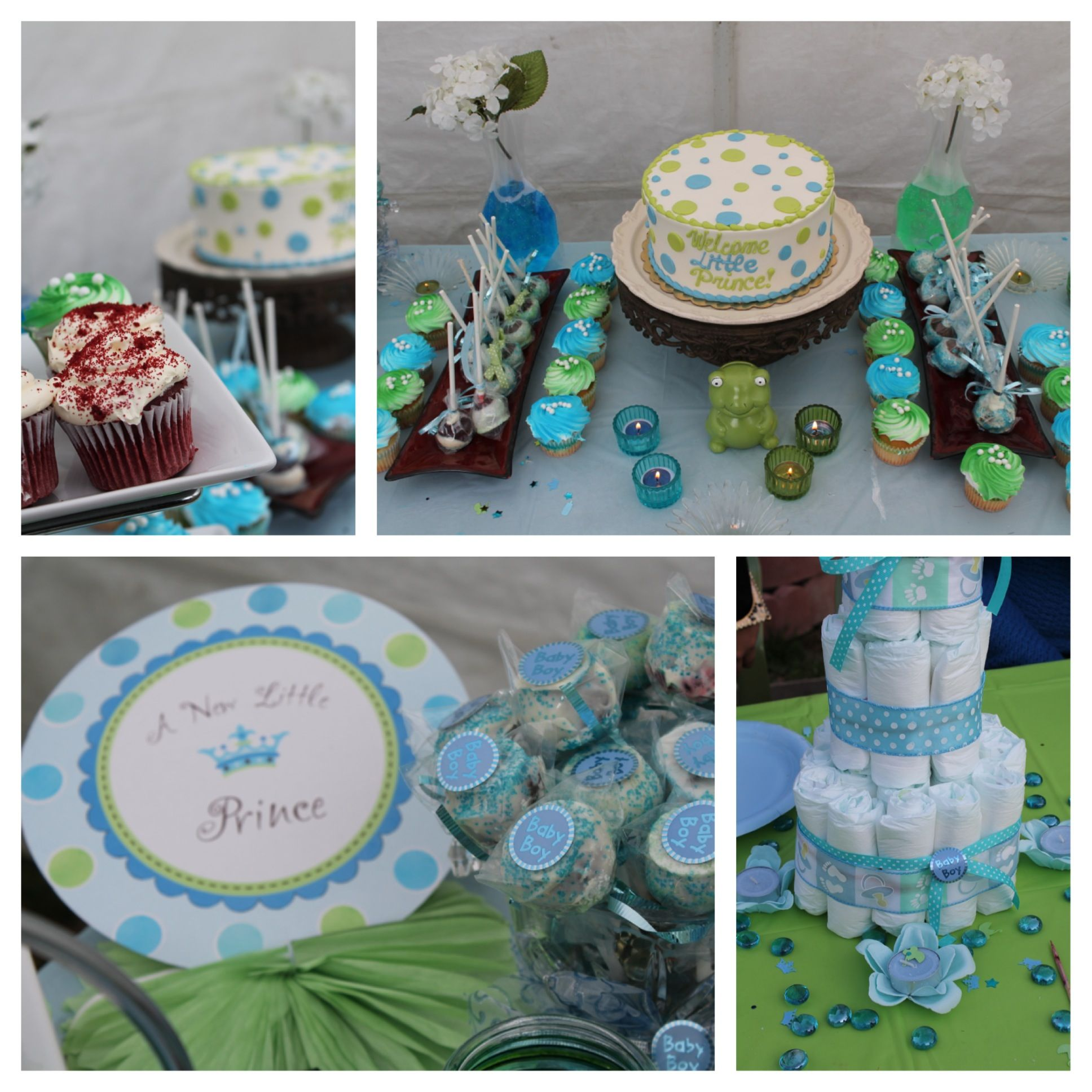 Little Prince Baby Shower Baby shower Pinterest