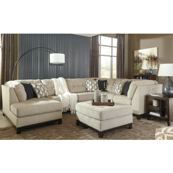Beckendorf Chalk 3 Pc Raf Sofa Sectional Cozy Couch Pc And