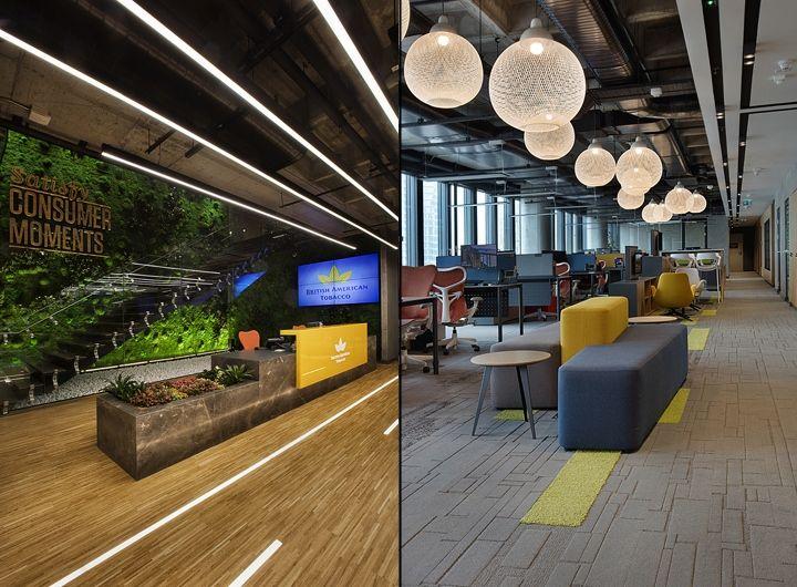 British American Tobacco Office By Bakırküre Architects, Istanbul U2013 Turkey  » Retail Design Blog