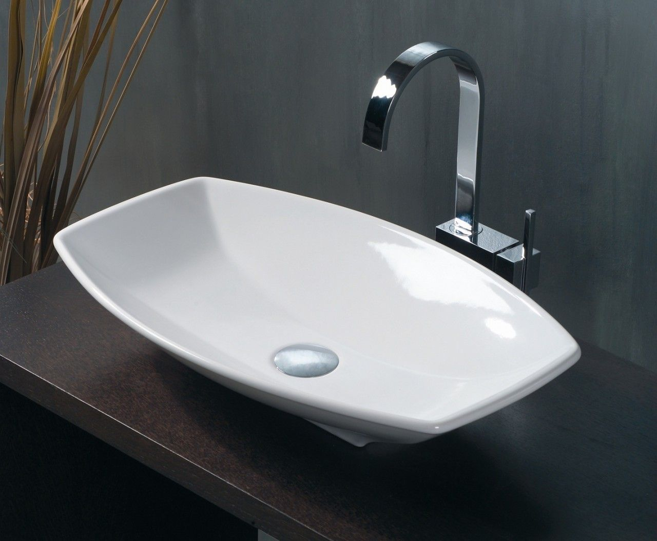 WS Bath Collections LVR 210 Vessel Bathroom Sink 23.6\