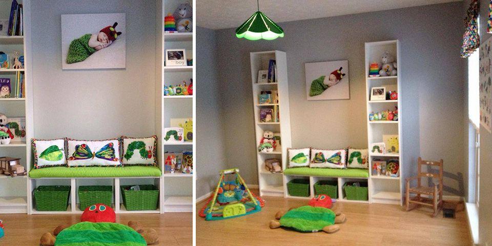 Very Hungry Caterpillar Themed Playroom Nursery Baby