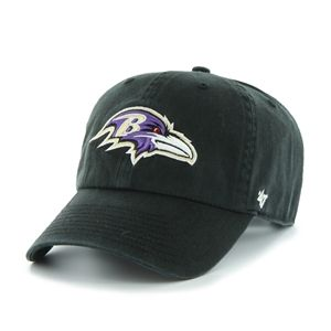 596e135aa7a2af Baltimore Ravens 47 Brand Clean Up Cap | NFL 47 Brand Clean Up Caps ...