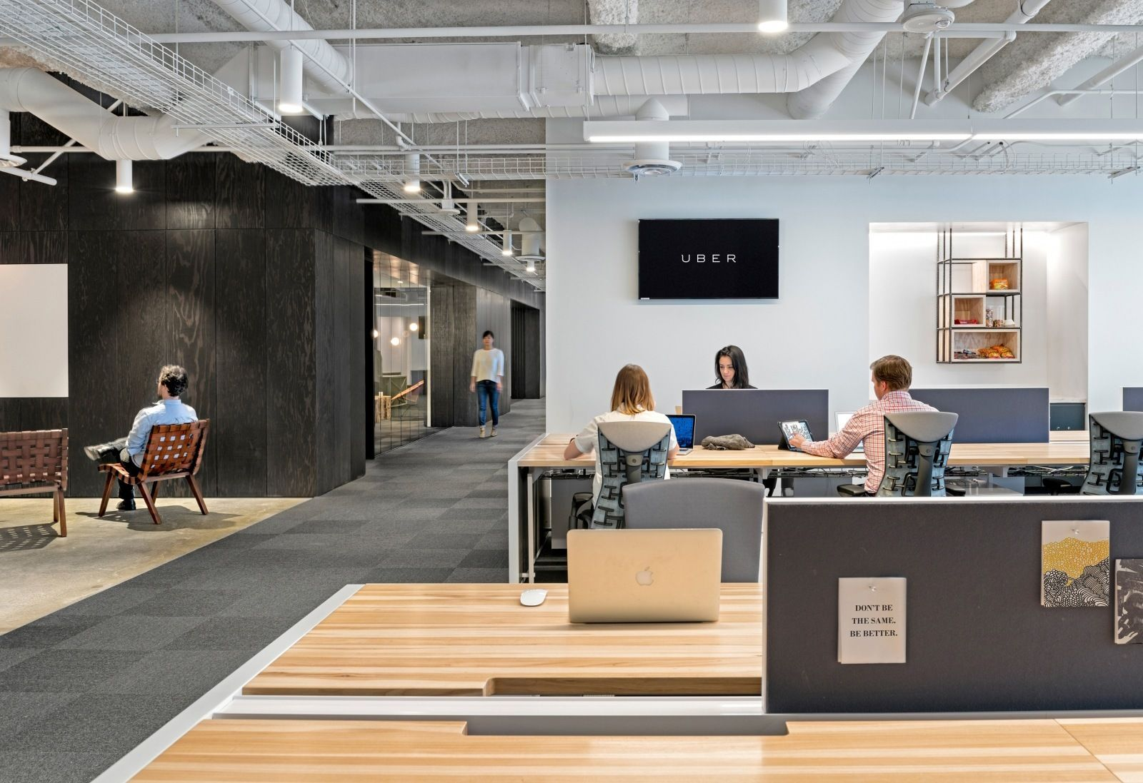A Tour Of Uber S New San Francisco Office Design Studio Office Office Design Office Design Trends