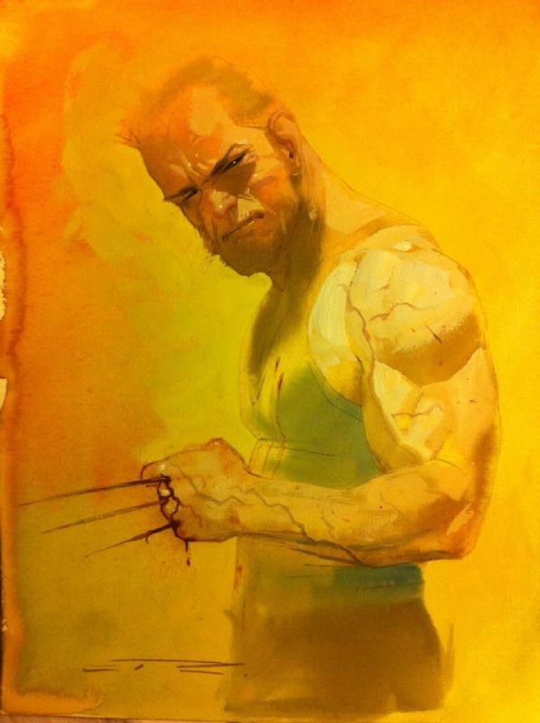Logan by Esad Ribic Comic Art
