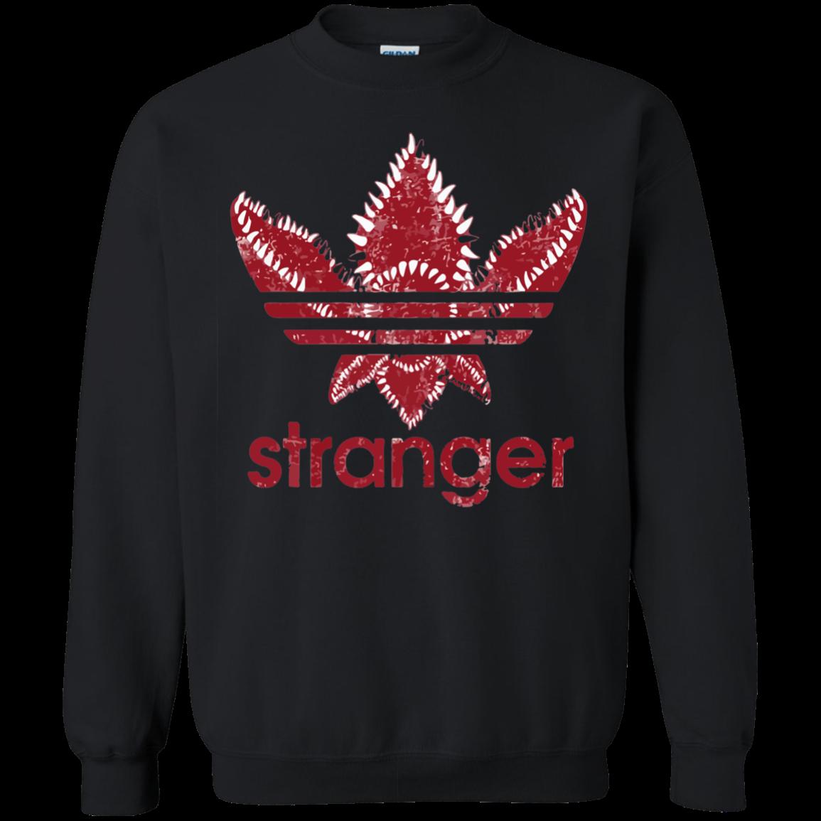 Stranger Things Adidas Logo Shirt Hoodie Sweater Stranger Things Outfit Stranger Things Shirt Addidas Shirts [ 1155 x 1155 Pixel ]