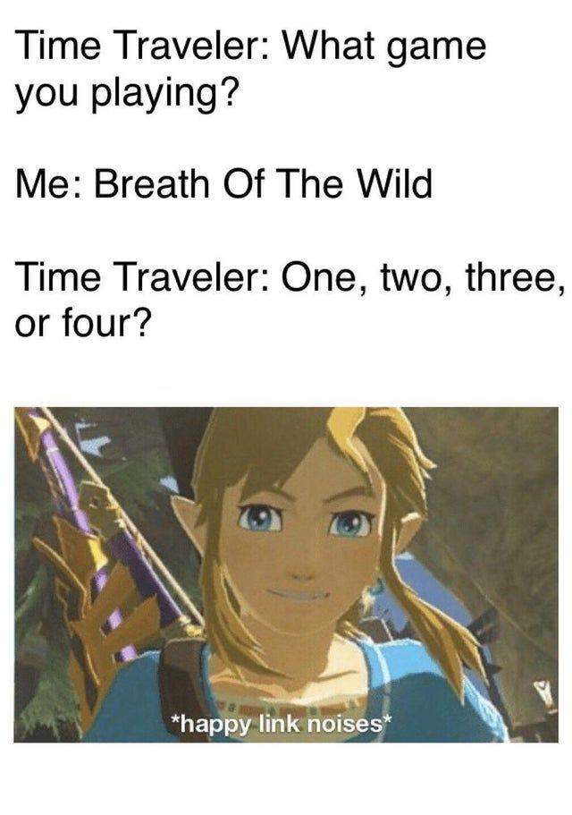 A Man Can Only Dream Breath Of The Wild Legend Of Zelda Memes Zelda Funny Legend Of Zelda