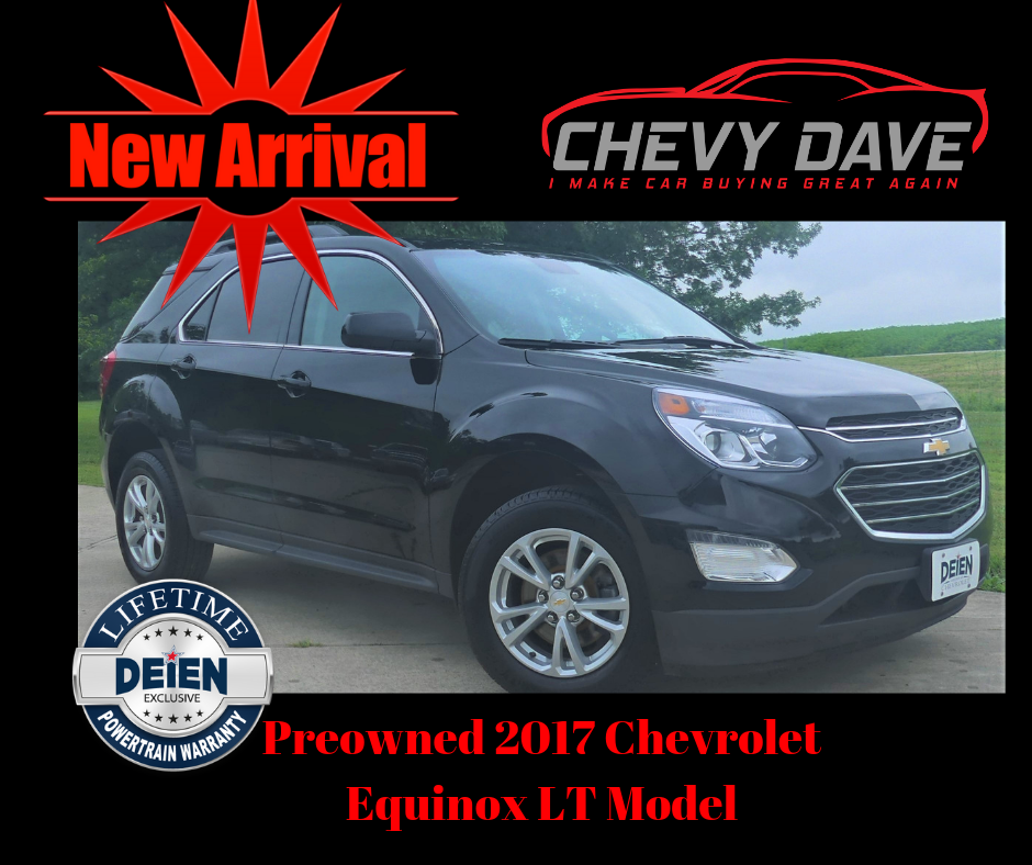 New Arrival 2017 Chevy Equinox Lt Model Only 29k Miles Great
