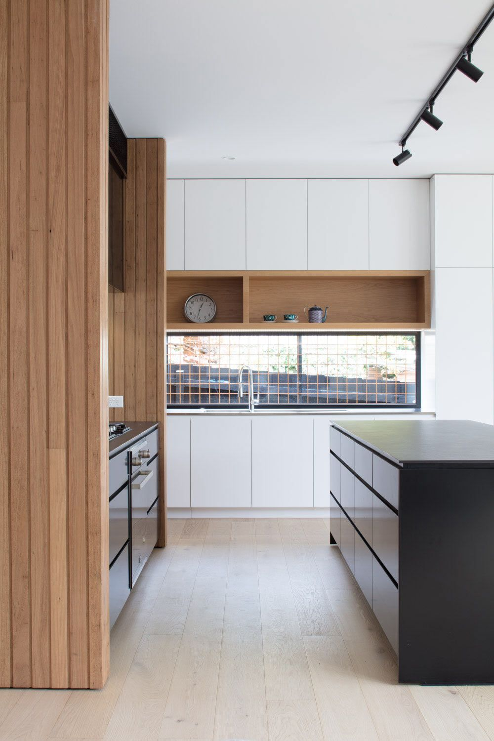 A Modern Modular Extension Added To A Weatherboard House In Melbourne Kitchen Remodel Small Kitchen Remodel Galley Kitchen Remodel