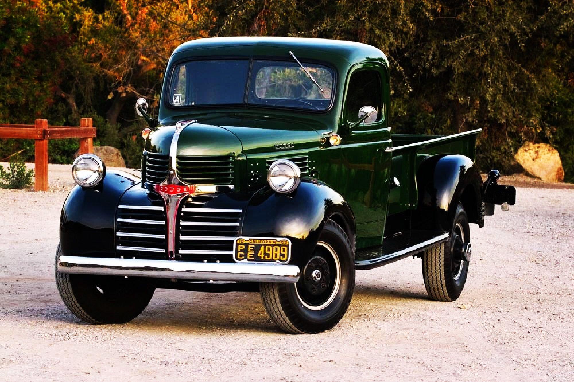 1942 Dodge e Ton built in Canada Farm Trucks