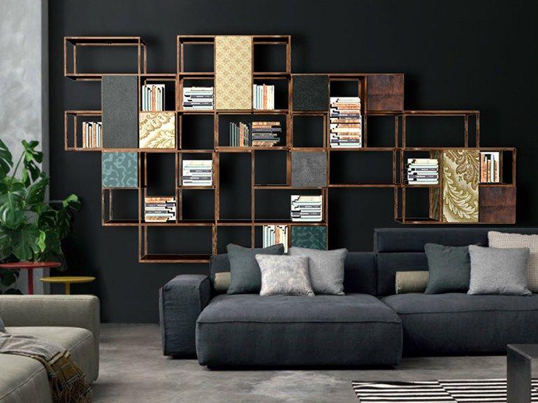 libreria componibile collezione set by twils design giuseppe vigan