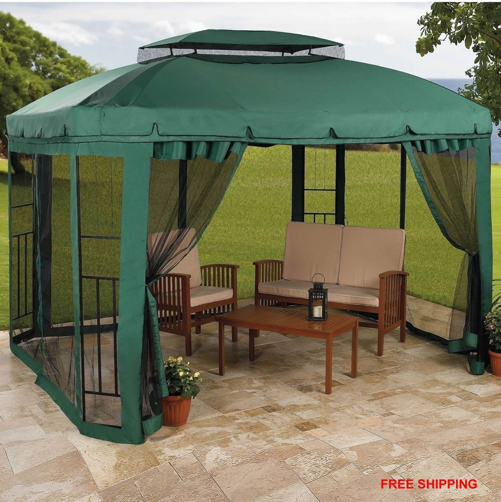 Gazebo Patio Canopy Tent Party Outdoor Furniture Deck Frame Wedding Garden Yard & Gazebo Patio Canopy Tent Party Outdoor Furniture Deck Frame ...