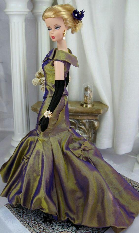 Pin by Ivonne Leiva on vestidos de fiesta barbie | Pinterest | Dolls ...