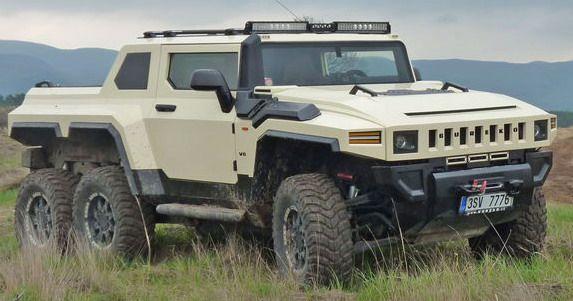 Bureko Pickup Czech Hummer Suv Offroading Pinterest